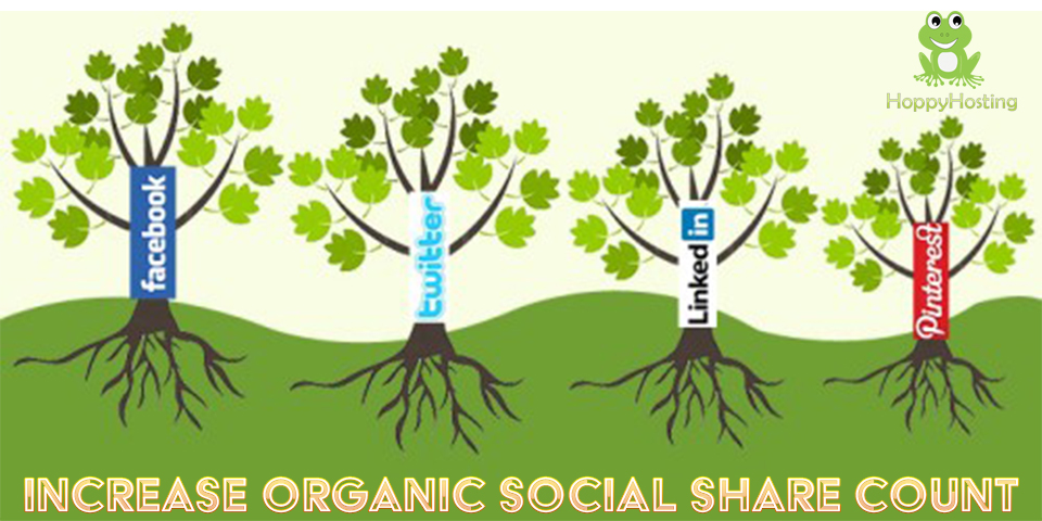 Increase Organic Social Share Count