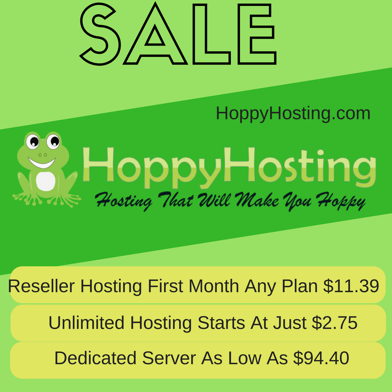 Reseller hosting Sale